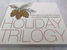 "Pottery Barn - ""Holiday Trilogy"" 3CDs Sealed"
