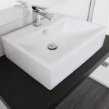 Lavabo bagno bacinella da appoggio in ceramica vari modelli design moderno