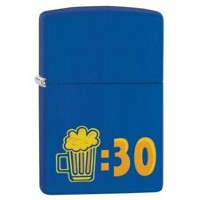Zippo 29869 Beer 30 Design Royal Blue Finish Lighter