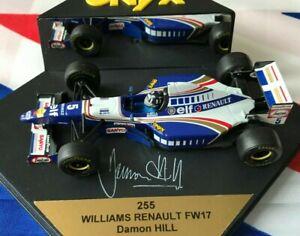 ONYX WILLIAMS RENAULT FW17 (LIMITED EDITION) - DAMON HILL 1:43 MODEL F1 CAR 1995
