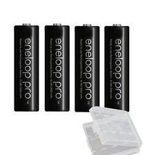 2500mAh Eneloop PRO - BLACK AA / Mignon / R6 Battery (Pack of 4) BK-3HCDE