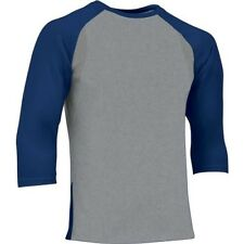 Champro Adult Extra Innings 3/4 Sleeve Baseball Shirt , Navy, XXL