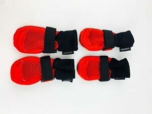 LONSUNEER Dog Boots Breathable Protect Paws Soft Nonslip XS