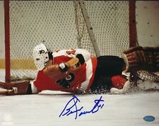Bernie Parent Flyers Signed 8x10 Photo Autograph Auto Mounted Memories