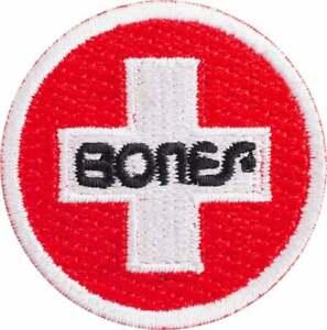 "Bones Bearings Swiss Circle Patch 1.5"" - FREE SHIPPING!"