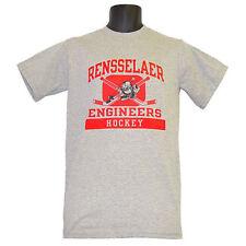 Rensselaer RPI Engineers Hockey Champion Gray T-Shirt - Small