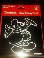 BRAND NEW DISNEY PARKS Mickey Mouse CAR WINDOW STICKER/DECAL VINYL