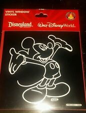 BRAND NEW DISNEY PARKS Mickey Mouse CAR WINDOW STICKER/DECAL VINYL