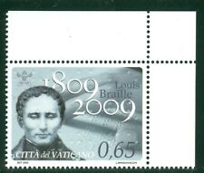 2009 Vatican City Sc# 1431: Bicentenary of the Birth of Louis Braille MNH