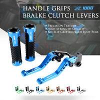 for KAWASAKI Z1000 Z1000SX 17-19 Adjustable Brake Clutch Levers CNC Handle Grips