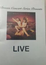 Dream Concert Series Presents: Van Halen with Sammy Hagar :Balance LIVE DVD