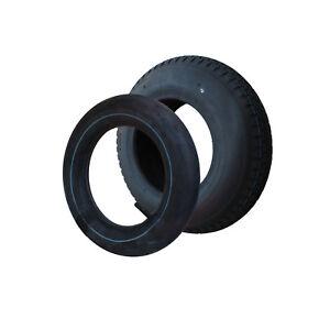 Reifen mit Schlauch Luftrad 400x100 mm 4.80/4.00-8 Schubkarrenrad Bollerwagen