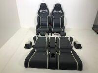 Sedili Performance pelle Sedili Mercedes-Benz C63 S AMG Coupe (W205 C205) Rhd