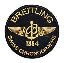 Breitling Swiss Chronographs Watch F1 Motor Sports Racing Jacket Iron on Patch