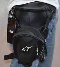 NEW Black Motorcycle Bike Cycling Men Sport Waterproof Leg Bag Waist Pack Wallet