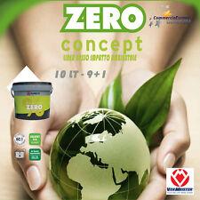 VERMEISTER ZERO CONCEPT ZERO% 10kg ADESIVO BICOMPONENTE PARQUET PAVIMENTO NATURA