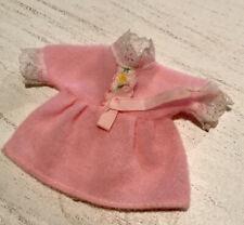 Vintage Kelly Doll Clothes Pink Lace Trimmed Dress  Mattel