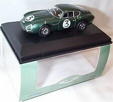 Aston MARTIN DB4GT ZAGATO 2 VEV Jim Clark GOODWOOD 1961 SCALA 1-43 NUOVO in caso