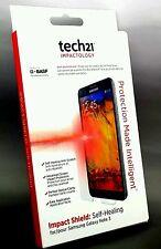 Genuine Samsung Galaxy Note 3 TECH 21 Advanced Auto-Guarigione PROTEGGI SCHERMO