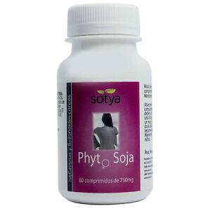 PHYTO SOJA 750 mg 80 Comprimidos - SOTYA -  Isoflavonas de Soja menopausia