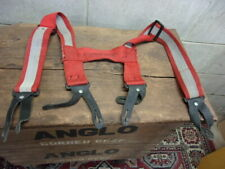 used FIRE DEX BRAND  Fire Fighting Pant Suspenders