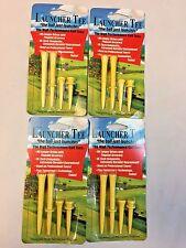 Launcher Tee golf tees step 4 Packs YELLOW
