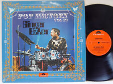 GINGER BAKER - Pop History, Vol. 10 LP (RARE German Import on POLYDOR)