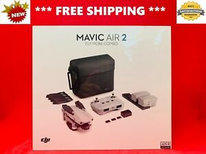 **BRAND NEW ** DJI Mavic AIR 2 FLY More Combo Foldable DRONE BUNDLE - SEALED