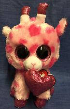 Ty Beanie Babies 36660 Boos Sweetums The Pink Giraffe Valentine Boo