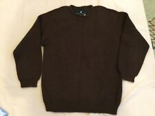NEW Peruvian connection pull over sweater BURGUNDY 100% ALPACA. Small