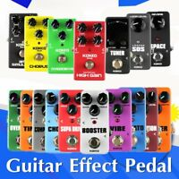 KOKKO 16 kinds of Guitar and Bass Effects Pedal Portable Guitar Accessories QZ