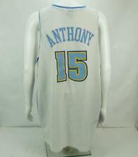 Nike Team Carmelo Anthony Denver Nuggets #15 Men's Basketball Jersey White 3Xl