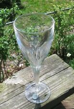 MEGEUE TAILLE GENET Fine French Crystal tall wine glass 8 oz