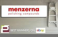 Menzerna Polish & Detailing Banner, for Workshop, Garage, Office etc