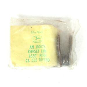 John Deere Offset Chain Link For 243 244 343 344 Corn Head AN100722 Genuine OEM