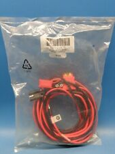 (1) HKN4192B 20 FT 20A 10 AWG Mobile Power Cable Assembly Motorola Two Way Radio