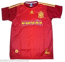 Spain Espana EVERCOOL Red Soccer Jersey Shirt Futbol Dry Fast Fit Men's S/M