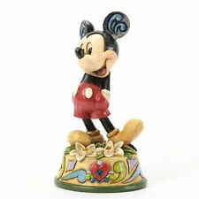 Jim Shore Disney Traditions MICKEY MOUSE DECEMBER Birthstone Figurine  4033969