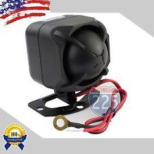 Car Alarm 6 Multi-Tone Loud Siren Security Compact Design Marine Grade Dc6V Dc12