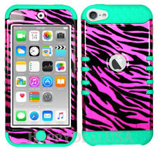 For Apple iPod Touch iTouch 5 | 6 - KoolKase Hybrid Cover Case - Zebra Pink