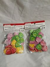 Lot Of 2 Creatology Christmas Holiday Foam Stickers 40ct Each 80 Total Unopened