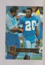 1995 Pinnacle Club Collection #212 Barry Sanders card, Detroit Lions Hof