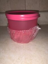 NEW Tupperware Modular Pink Rounds Set of 2 Capacity 2 Cups
