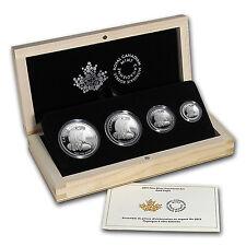 2015 Canada 4-Coin Proof Silver Bald Eagle Fractional Set - SKU #89619