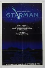 """Official Studio Issued 1984 STARMAN ~ 27""""x41"""" Folded Single Sided Poster"""