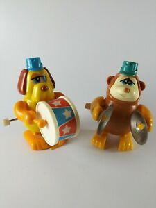 Vintage - 1980 - Tomy - Music Band - Windup - Toys