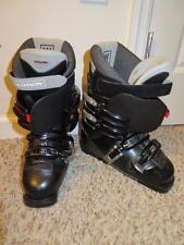 WOMENS SALOMON BLACK PERFORMA 4.0 SNOWBOARDING BOOTS - SIZE  7