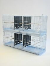 """38"""" Stackable Triple Breeding Bird Cage for Finch Canary"""