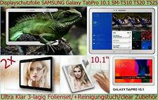 2x Kristall Klar Display Schutz Folie Samsung Galaxy Tab Pro 10.1 Kratzfest Tuch