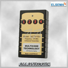 Elsema™ MCT91504 MULTICODE™ Transmitter (4 Channel) (Garage Door Remotes